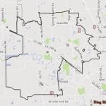Cypress Texas Map