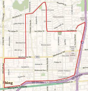 Galleria/Uptown Park Map