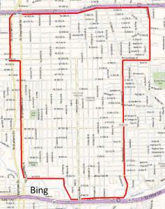 Houston Heights Map