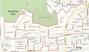 River Oaks Map