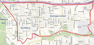 Rice Military/Washington Corridor Map