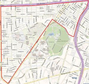 Rice University / Museum District Map